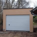 garage béton une pente côté