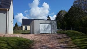 Garage béton toit terrasse