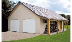 Double Garage béton
