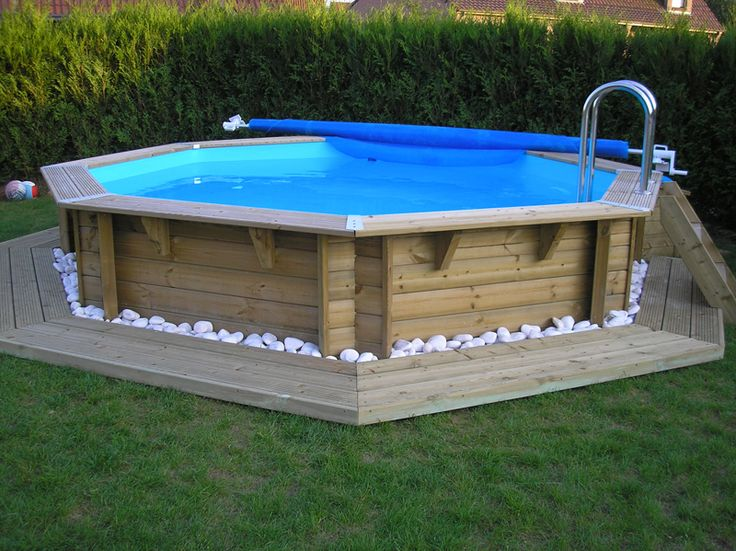 Piscine bois hors sol for Piscine hors sol enterrable