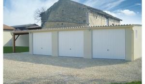 Garages béton collectifs