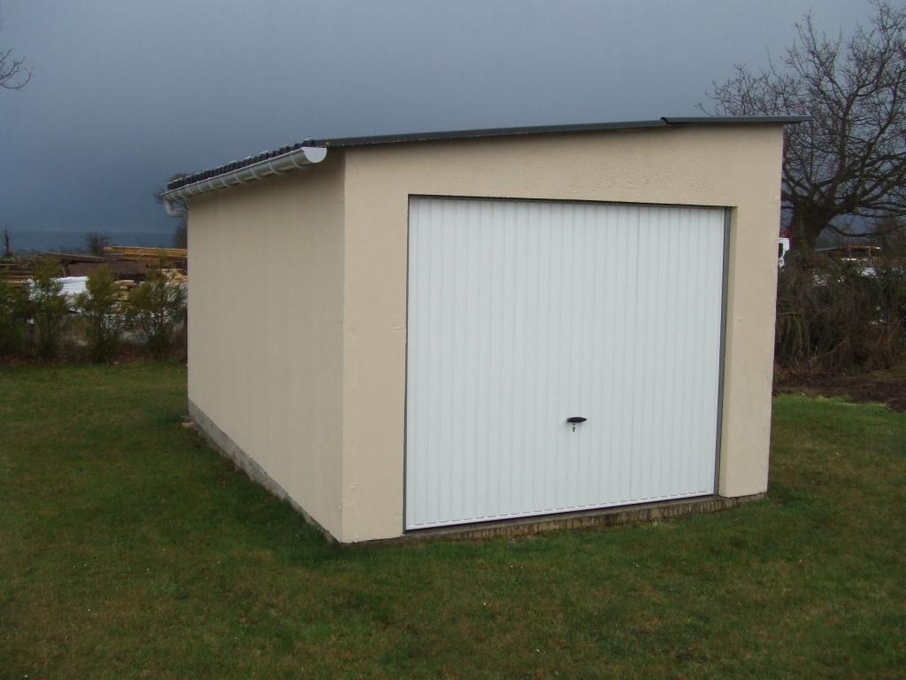 Garages bois ou b ton vente conseil et installation kopec for Votre garage bois