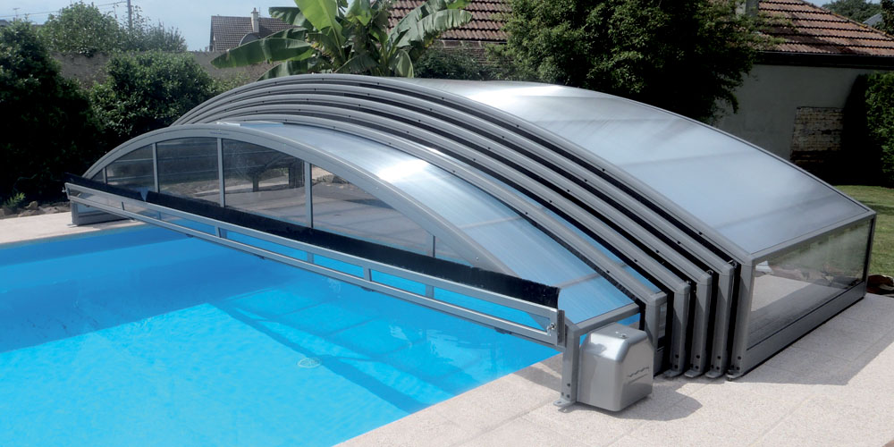 Abris de piscine motoris s vente et installation kopec for Pieces detachees pour abri de piscine