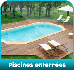 Piscines enterrees
